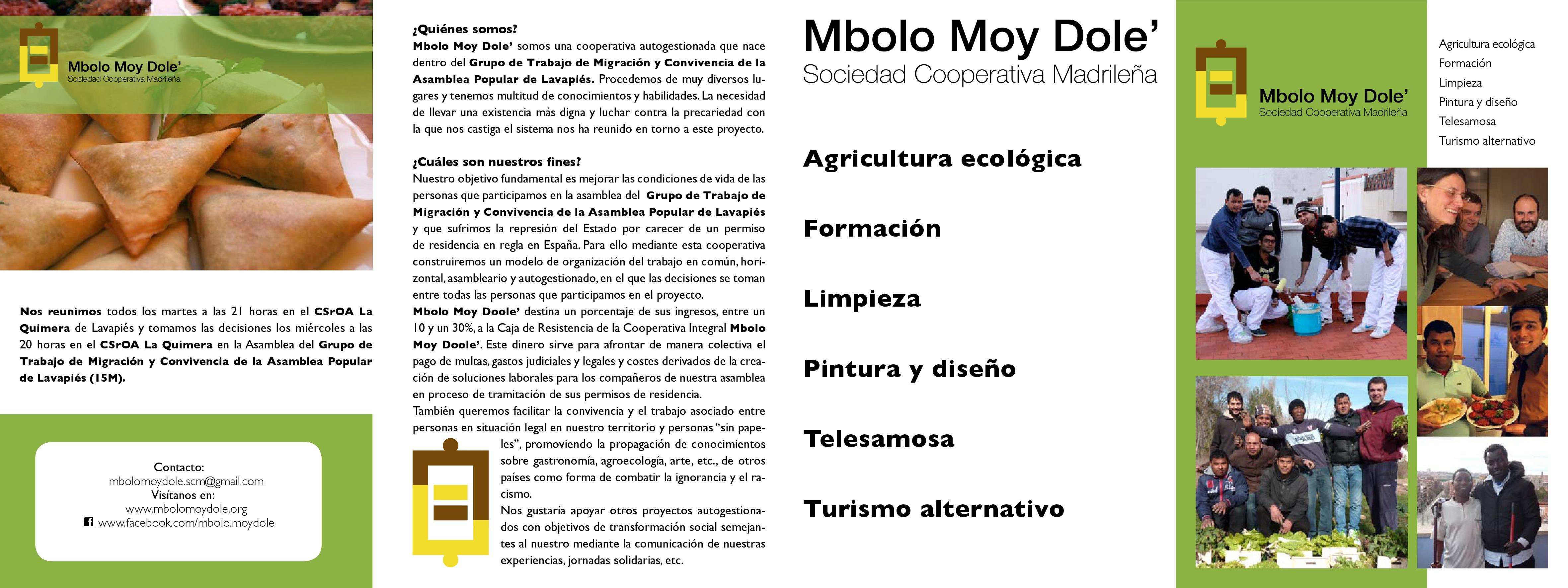 Tríptico Mbolo 1