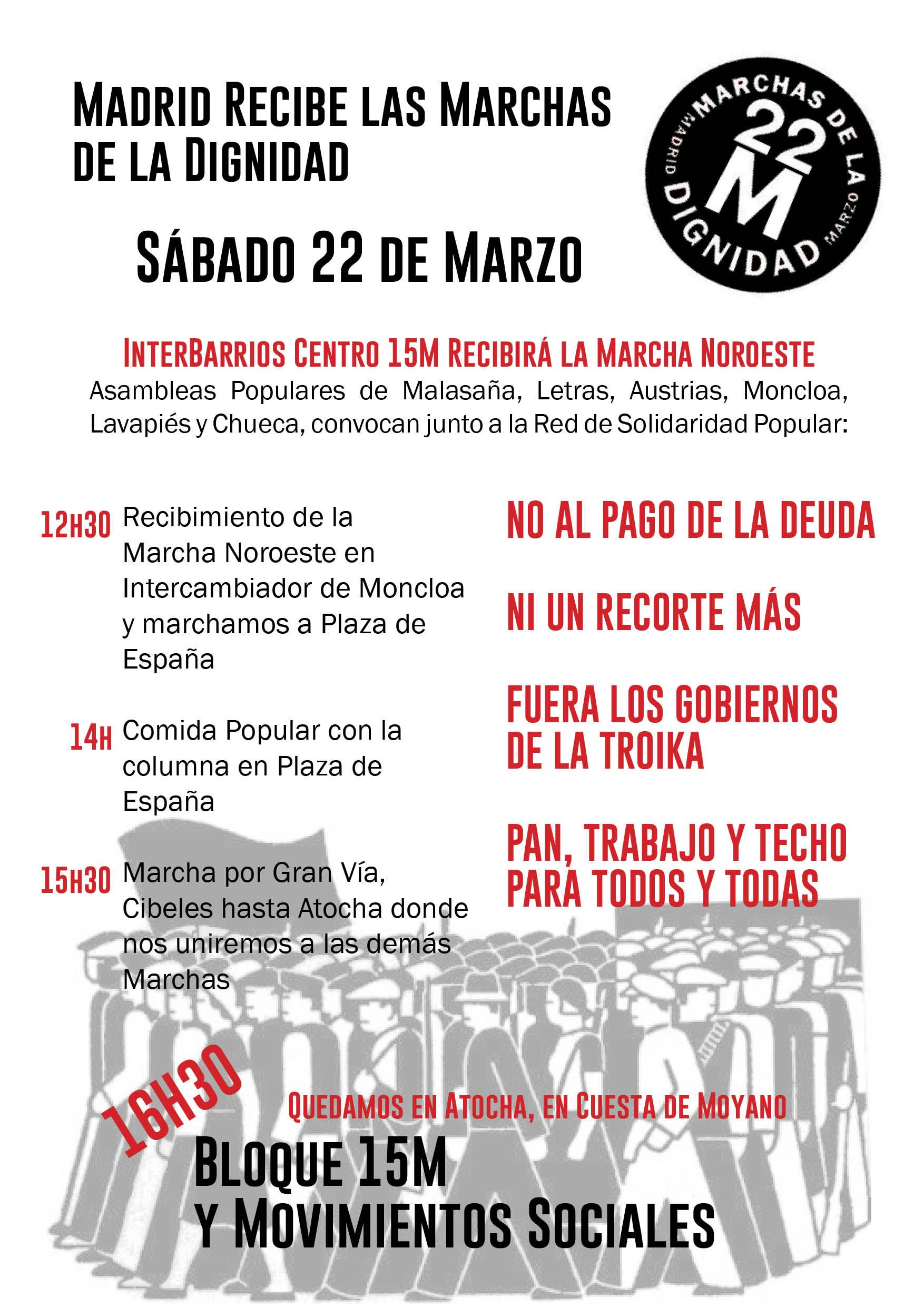 marchas interbarrios centro